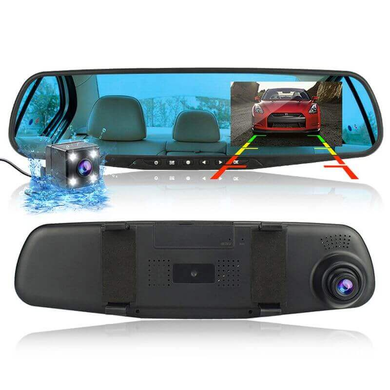 🚗 Dispozitiv înregistrare video, cu două camere, pentru un condus liniştit