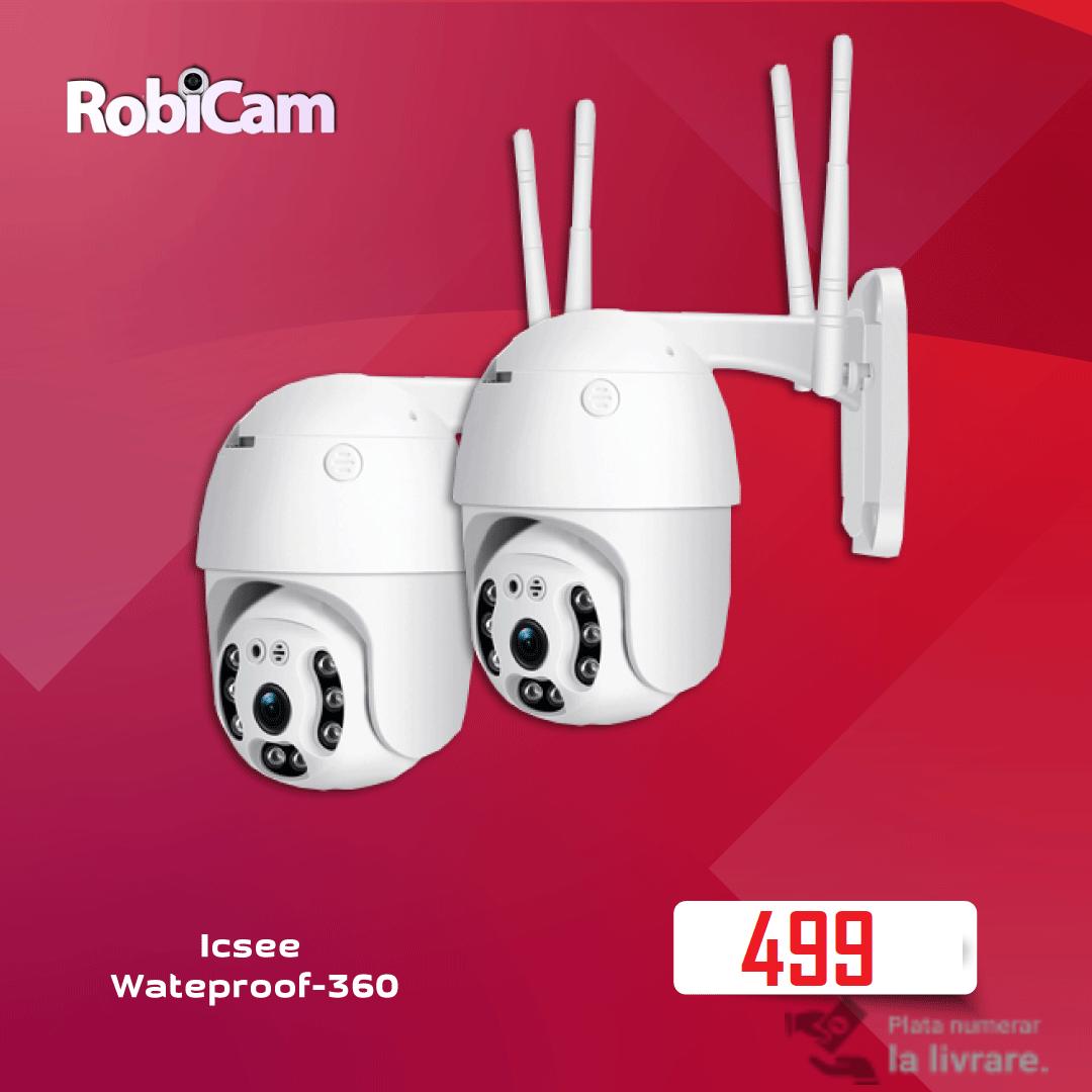 2X NEW PTZ iCsee Wateproof 360 Robicam